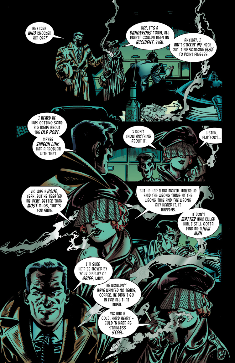 Killer In Steel: Page Eight